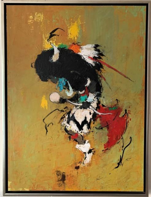 1966-9 Hopi Buffalo Dance, Arizona, USA