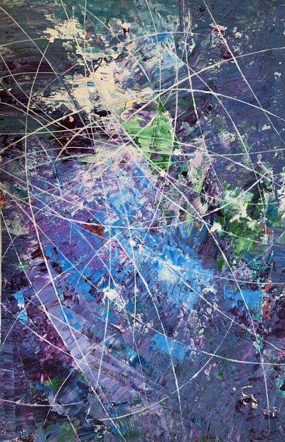 Abstrakt kaos tegner Otto Nielsen